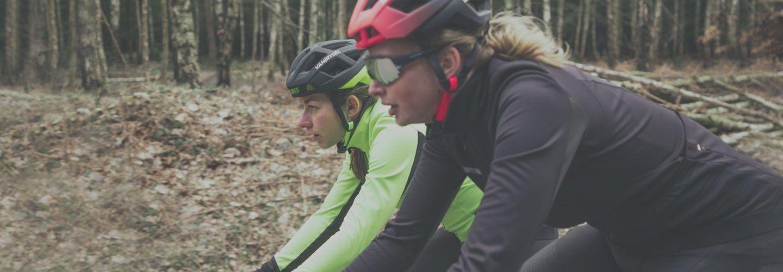 Culotte de ciclismo con cremallera rápida para mujer