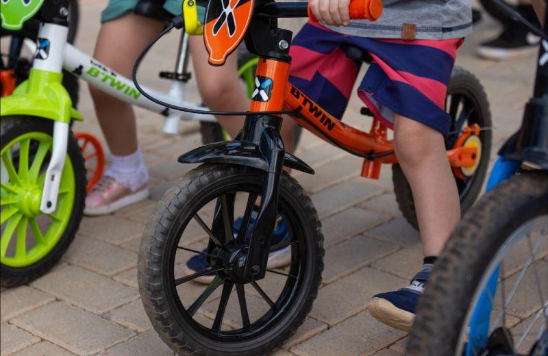 bici niño entretenido