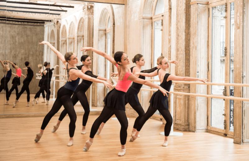 Bailarinas de ballet grupo