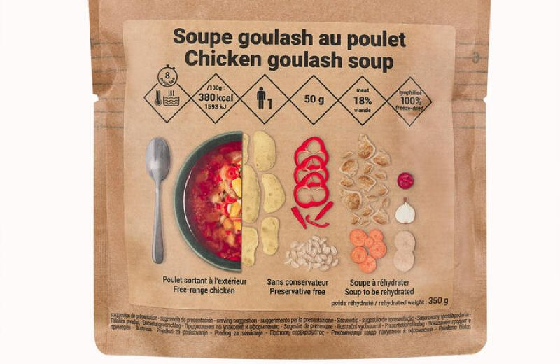 FORCLAZ GOULASH SOUP WITH CHICKEN AW21 SS22