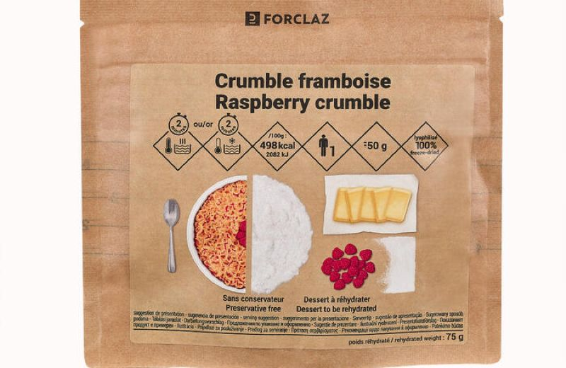 FORCLAZ RASPBERRY CRUMBLE AW21 SS22
