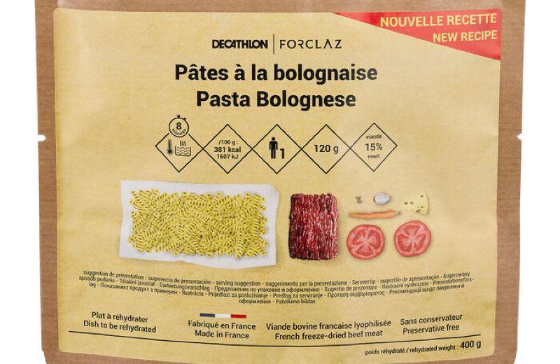 FORCLAZ TREK FOOD PASTA BOLOGNESE SS20 AW20