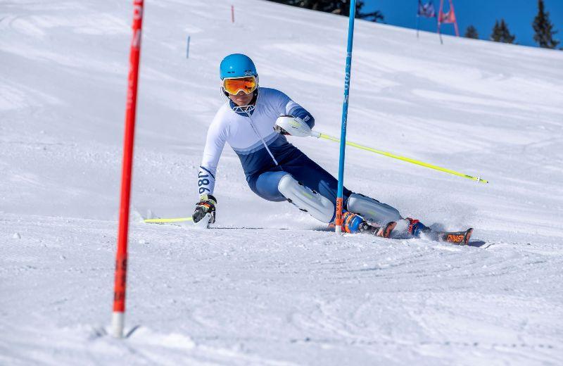 esqui pista race