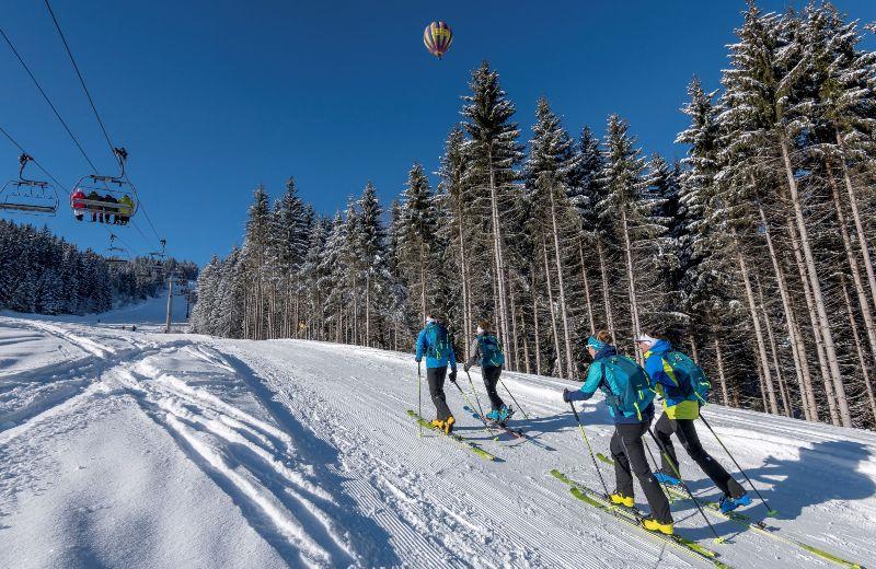 esqui travesia
