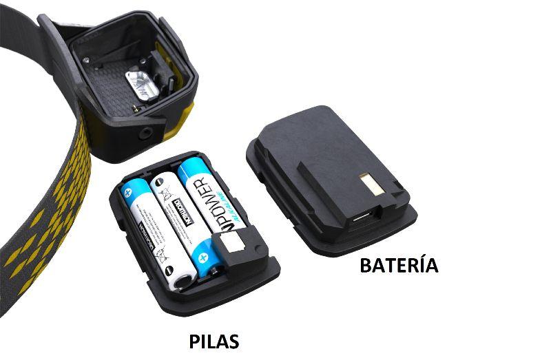 Pilas y batería