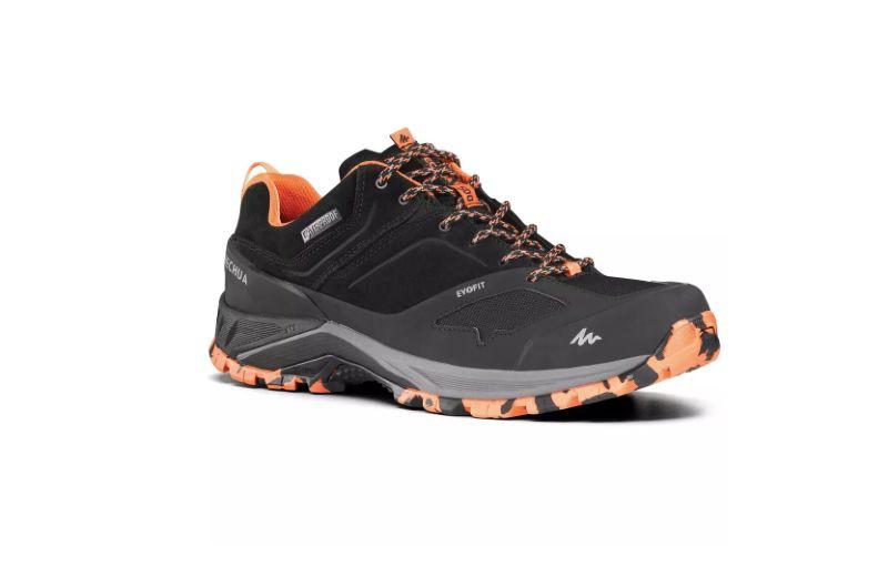 Zapatillas de senderismo montaña impermeables - MH500 Gris - Hombre