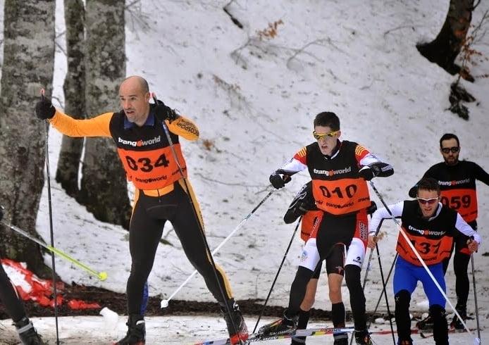 segmento esquí de fondo Ansó