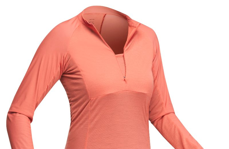 FORCLAZ T-SHIRT MANCHES L. TROPICAL 500 F CORAIL PE21 - 001 --- Expires on 30-10-2030