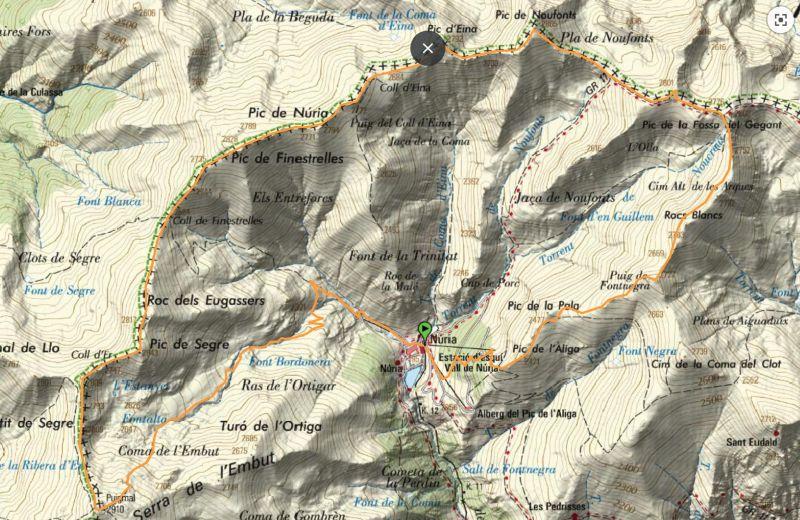 Circular valle de Núria