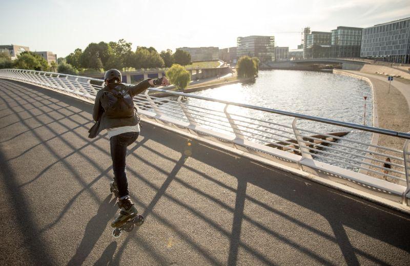 patinaje ciudad