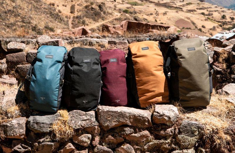 mochila viaje backpacking decathlon travel 100