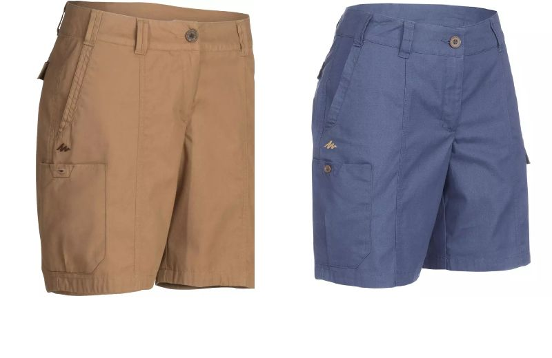 pantalon corto mujer travel 100
