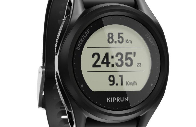 Reloj+GPS+Multideporte+KIPRUN+500+Negro