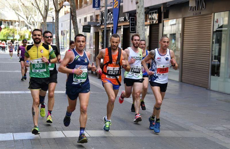 Runners por las calles de C. Real