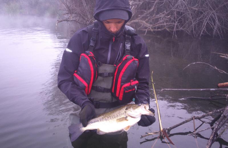 Vadeador DE pesca PVC WDS-1