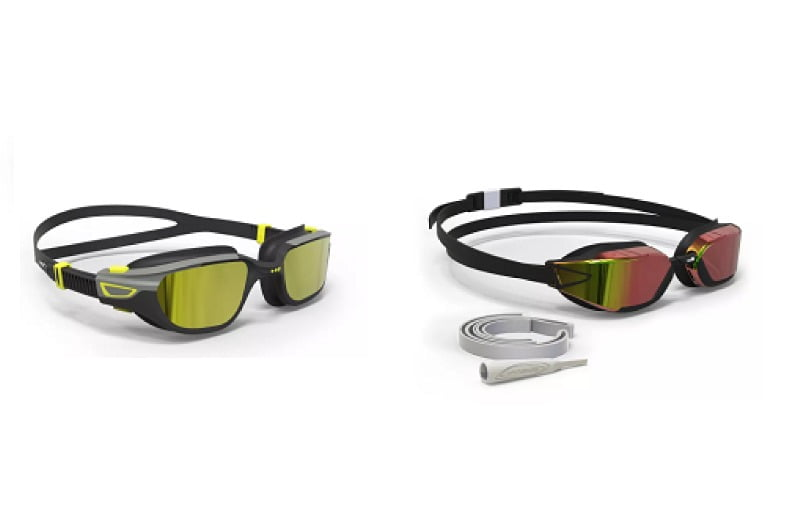 natacion , gafas