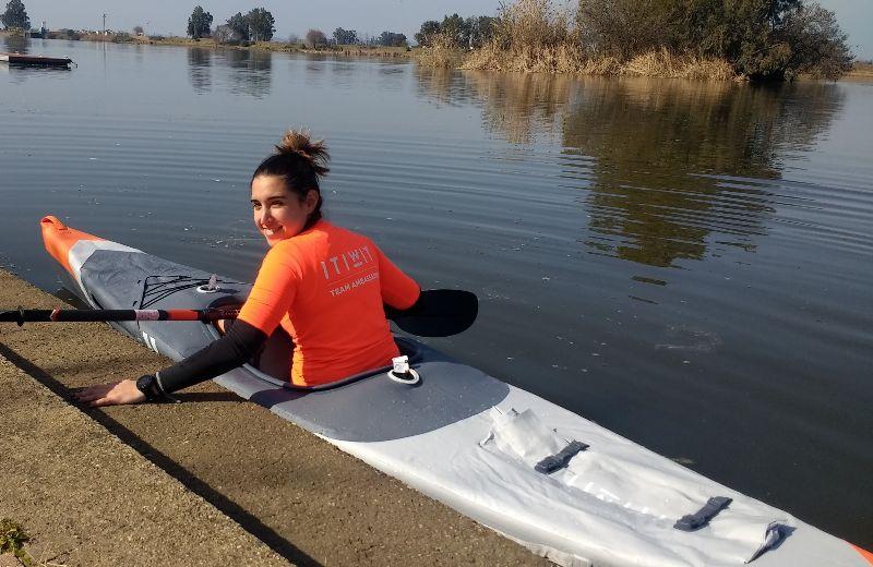 kayak hinchable competicion