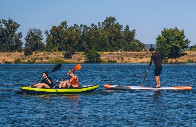 kayak hinchable familiar