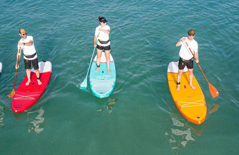 tablas paddle surf hinchables mar