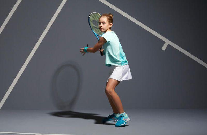 falda-de-tenis-artengo-tsk500-nina-blanco