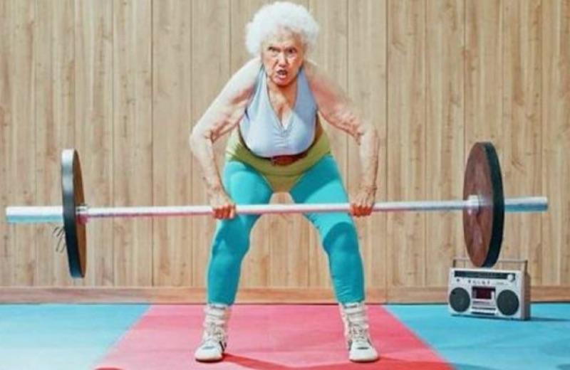 ejercicios de fuerza tercera edad