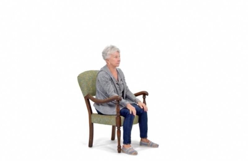 Sentadilla sentada