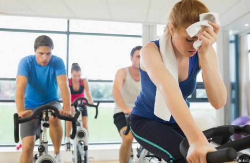 sudor durante ejercicio