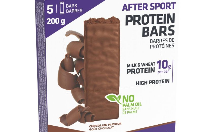 Barrita+proteica+AFTER+SPORT+chocolate+5+x+40+g