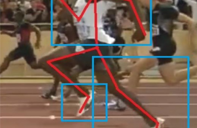 impulsión Usain Bolt