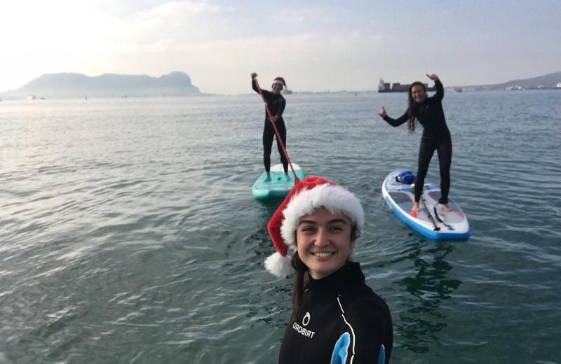Navidad acuática