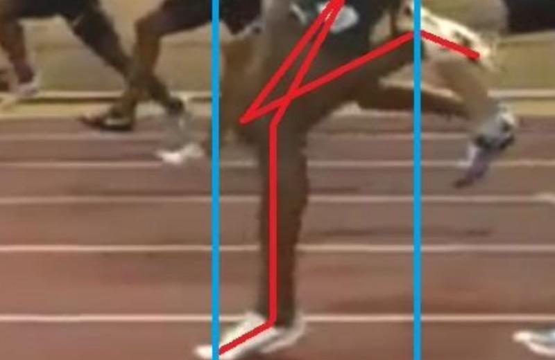 Usain Bolt Amortiguación