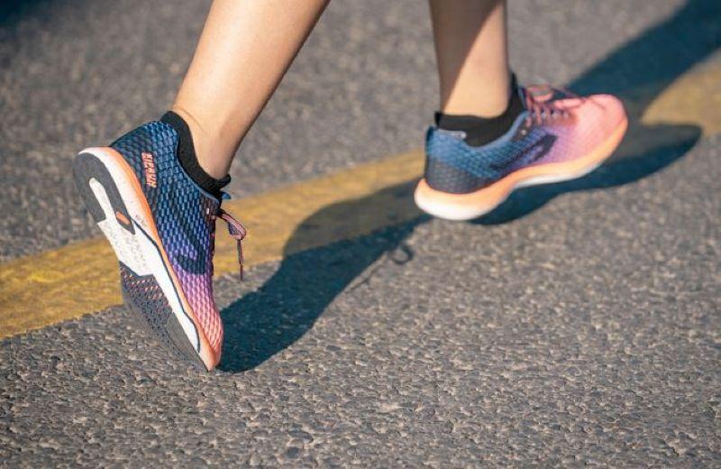 número zapatilla correcta correr