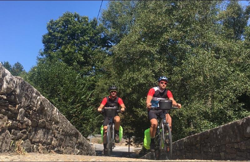 Camino De Santiago en Bicicleta de trekking