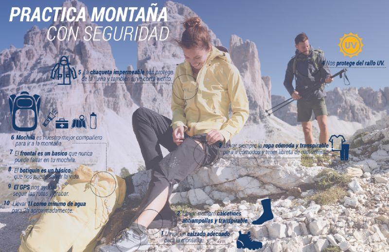 Tips de seguridad para la montaña