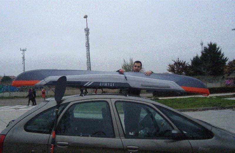 kayak baca coche itiwit