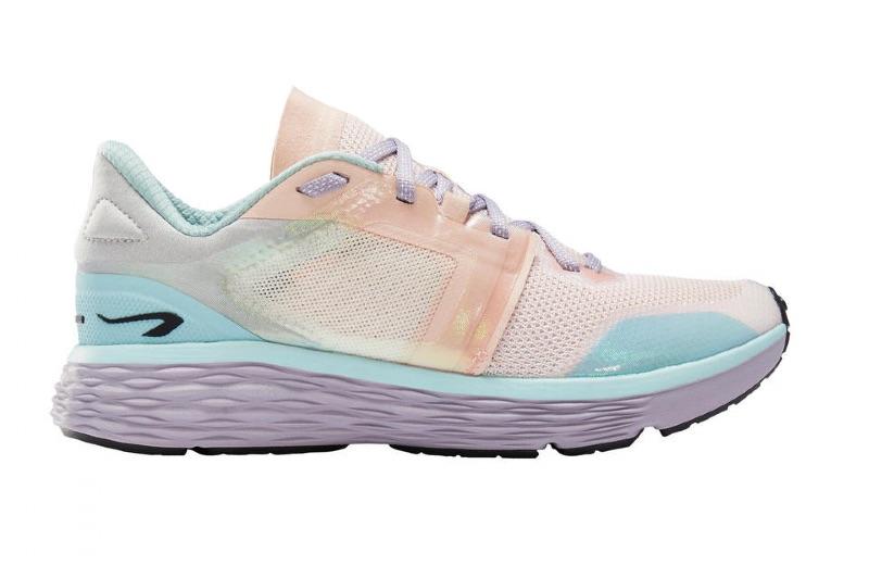 zapatillas-running-kalenji-confort-mujer-mix-pastel