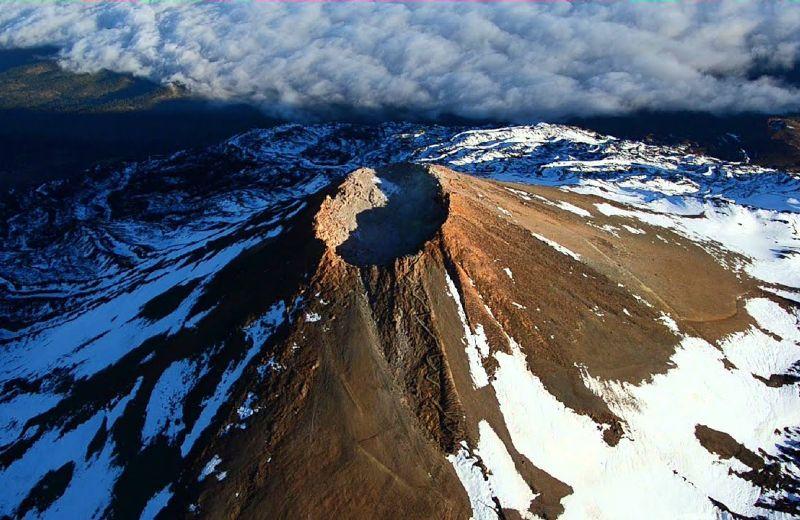 Imagen aérea del Teide
