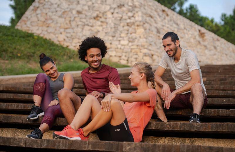 Compartiendo la felicidad de correr