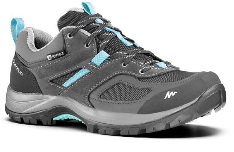 QUECHUA W Wtpf Shoes MH100 - Grey Blue