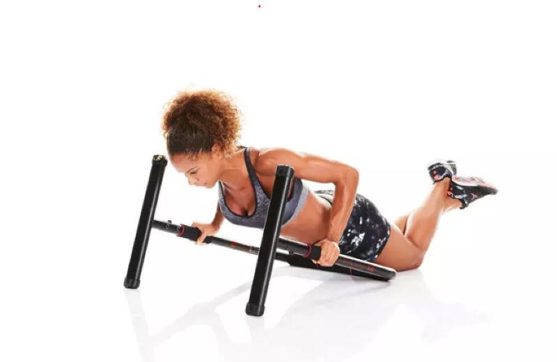 Flexiones con barra