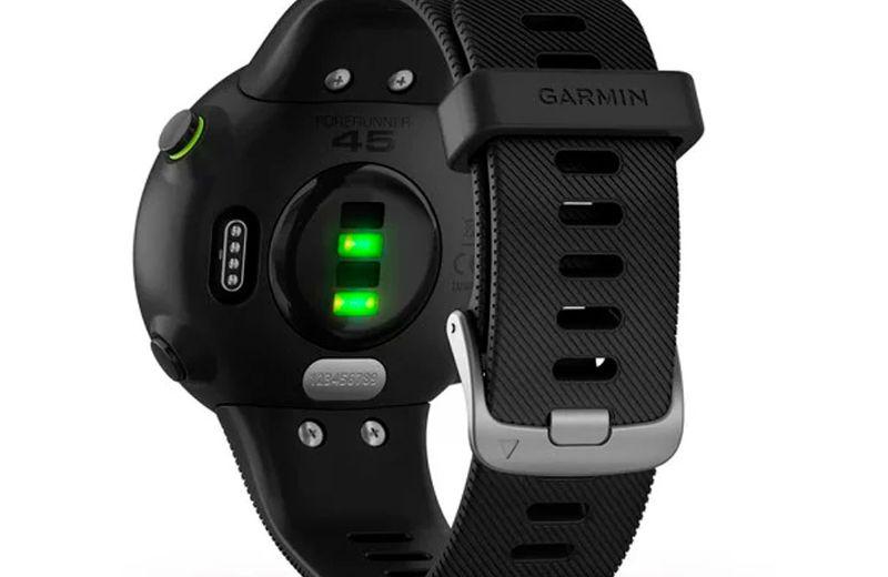 garmin forerunner 45 sensor frecuencia cardíaca fc