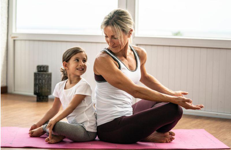 Yoga mama e hija
