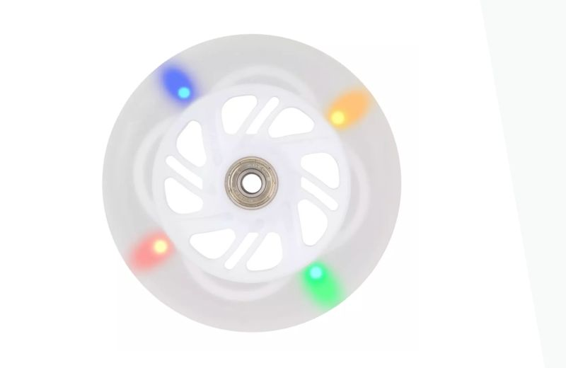 ruedas luces decathlon patinete