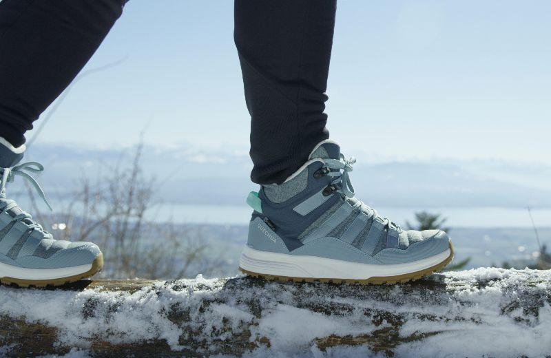 botas nieve quechua decathlon