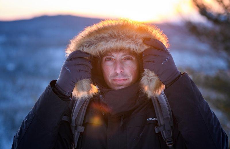 chaqueta nieve montaña hombre