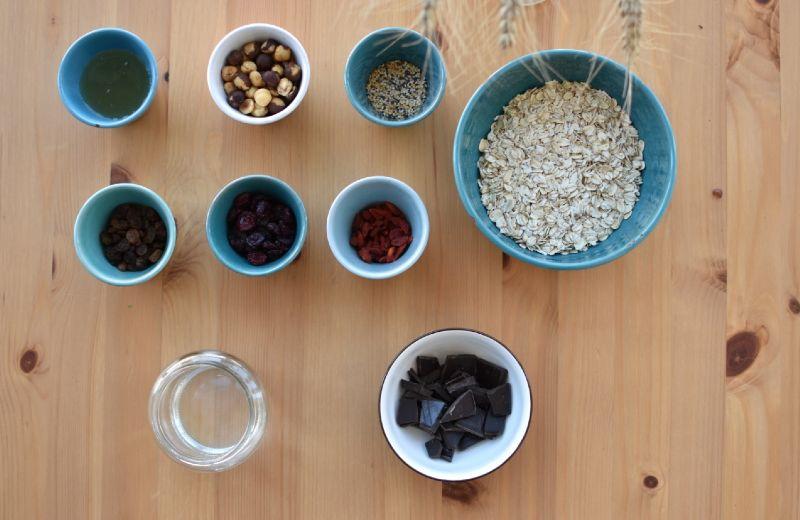 ingredientes barritas energeticas caseras