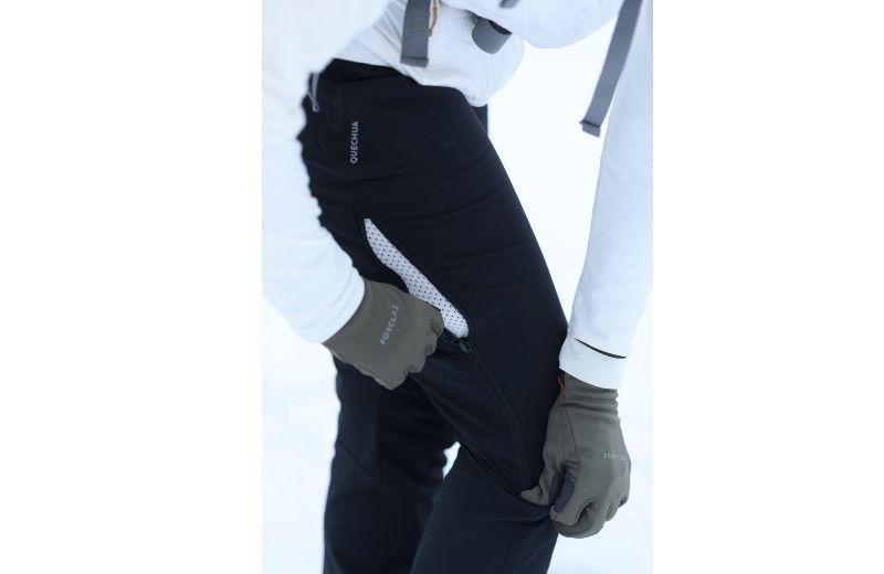 pantalon termico nieve quechua
