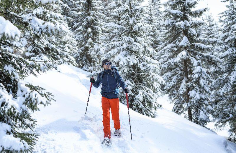 Raqueta nieve Decathlon