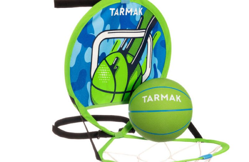 TARMAK HOOP 100 GREEN BLUE