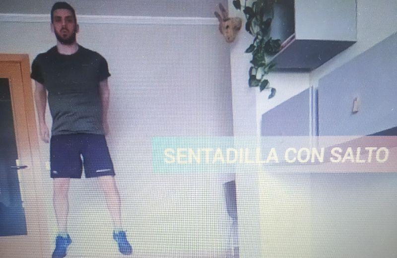 SENTADILLLA + SALTO